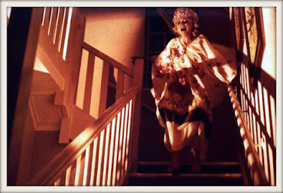 Rare promotional still from Percival Rubens' THE DEMON (1981)