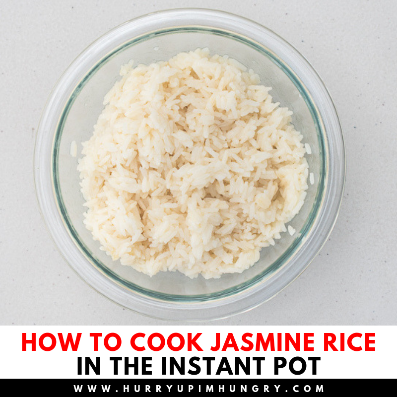 Tips for cooking jasmine rice in instant pot