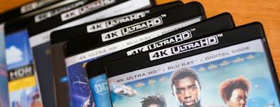 Reproductores bluray 4K películas