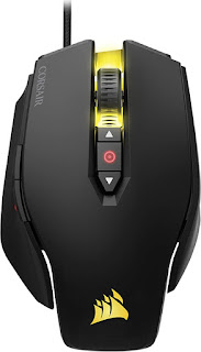 Corsair M65 PRO RGB Optical FPS Gaming Mouse (12000 DPI Optical Sensor, Adjustable Weights, 8 Programmable Buttons, 3-Zone RGB Multi-Colour Backlighting, Xbox One Compatible)