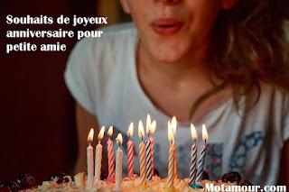 image Souhaits de joyeux anniversaire pour petite amie messages