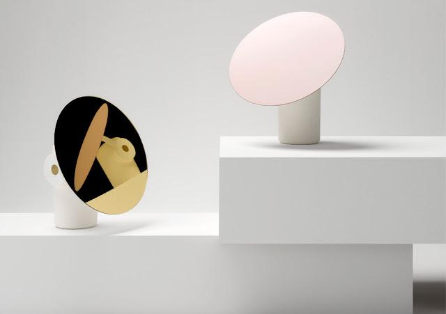Новости дизайна. Вращающаяся настольная лампа Polar от дизайнера Росса Гардама