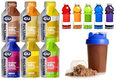 Batidos de proteínas, geles energéticos y bebidas isotónicas como opciones para tomar antes del cardio
