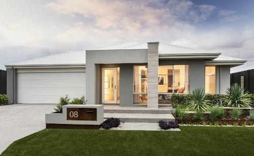 Desain Rumah Melebar ke Samping Rancangan Desain Rumah