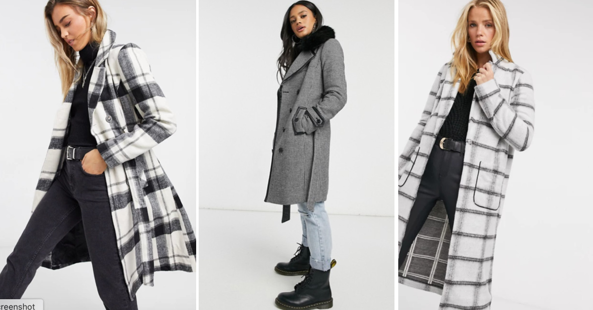 Checking In - All the Best Checked Coats