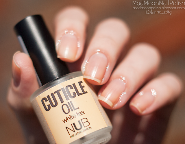 NUB cuticle oil White Tea