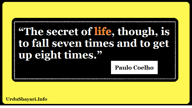 Alchemist, Paulo Coelho motivational life quote, proverb