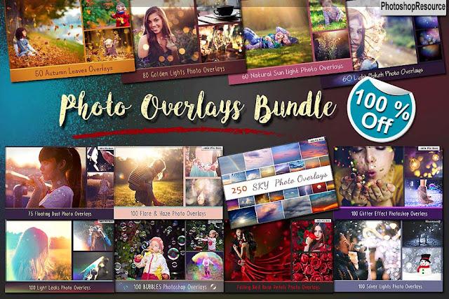 1100+ Photo Overlays Bundle