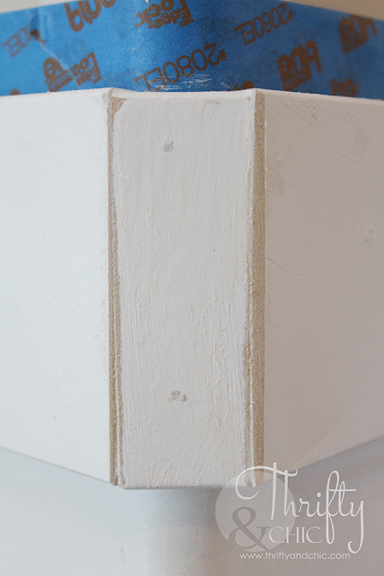 Great tip on how to add molding or board and batten around a rounded corner
