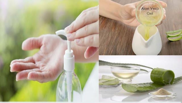 Fabriquer sa propre désinfectant pour les mains à l'aloe vera et à la lavande