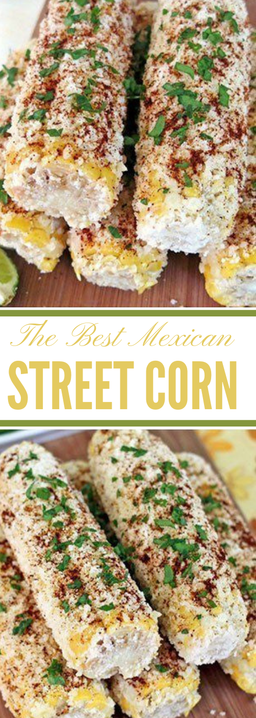 The Best Mexican Street Corn #food #corn