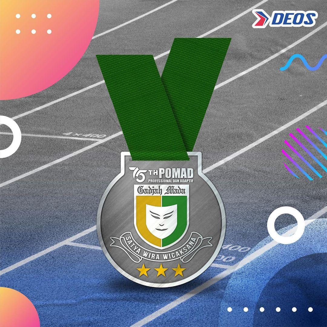 Medali � POMAD Virtual Run • 2021