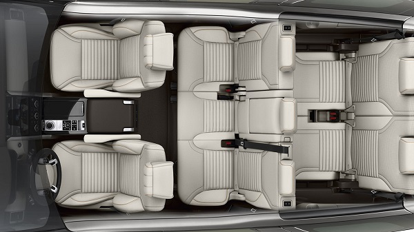 Interior Land Rover Discovery