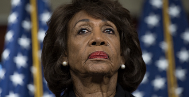Maxine Waters's Campaign Debt to Daughter Jumps $90,000