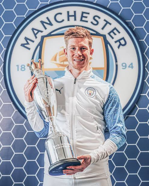 De Bruyne Named PFA Player Of The Year