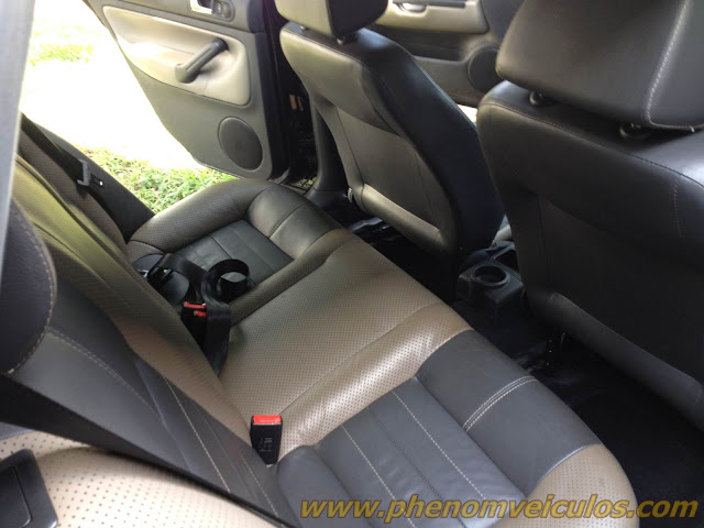 Golf Sportline 2008 Preto 1.6 Flex - interior