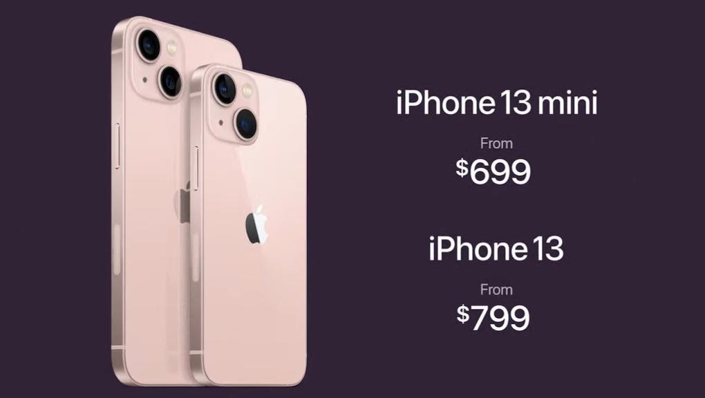 Apple iPhone 13, Apple iPhone 13 Mini