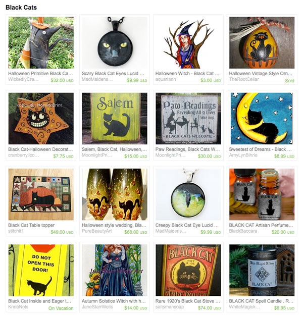 Black Cats Treasury
