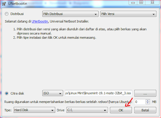 Cara Install Linux Tanpa  CD