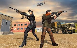 Commando Adventure Shooting: Shooting Game_fitmods.com