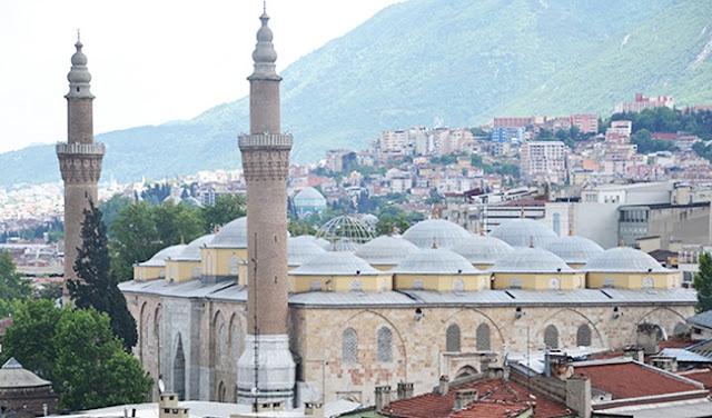 Grand Mosque of Bursa Turkey
