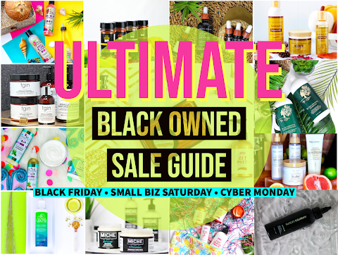 2020 ULTIMATE Black Owned Black Friday // Small Business Saturday // Cyber Monday Sale Guide
