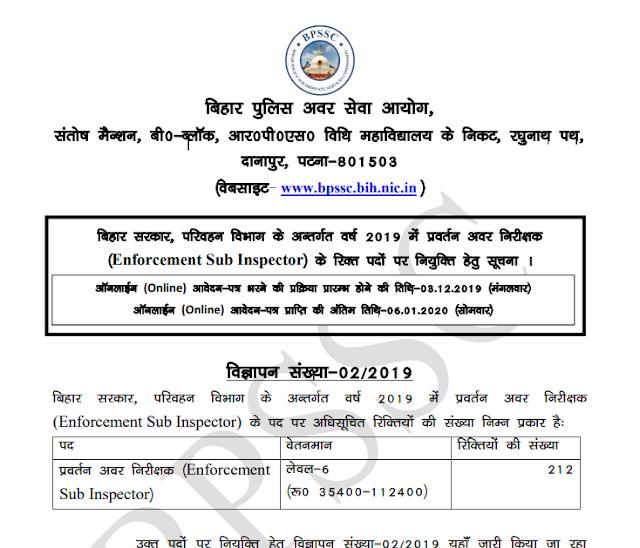 Bihar Police Constable Recruitment 2020 Announced