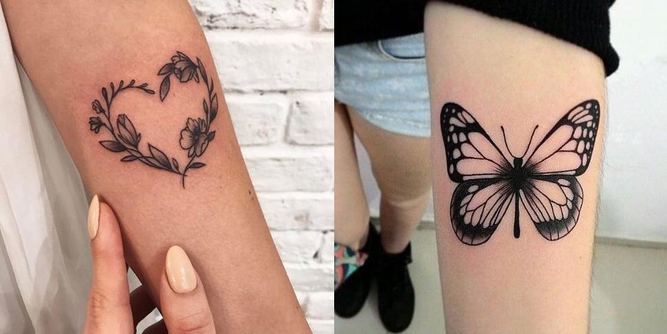 TOP10: Tatuagens Femininas do Pinterest.