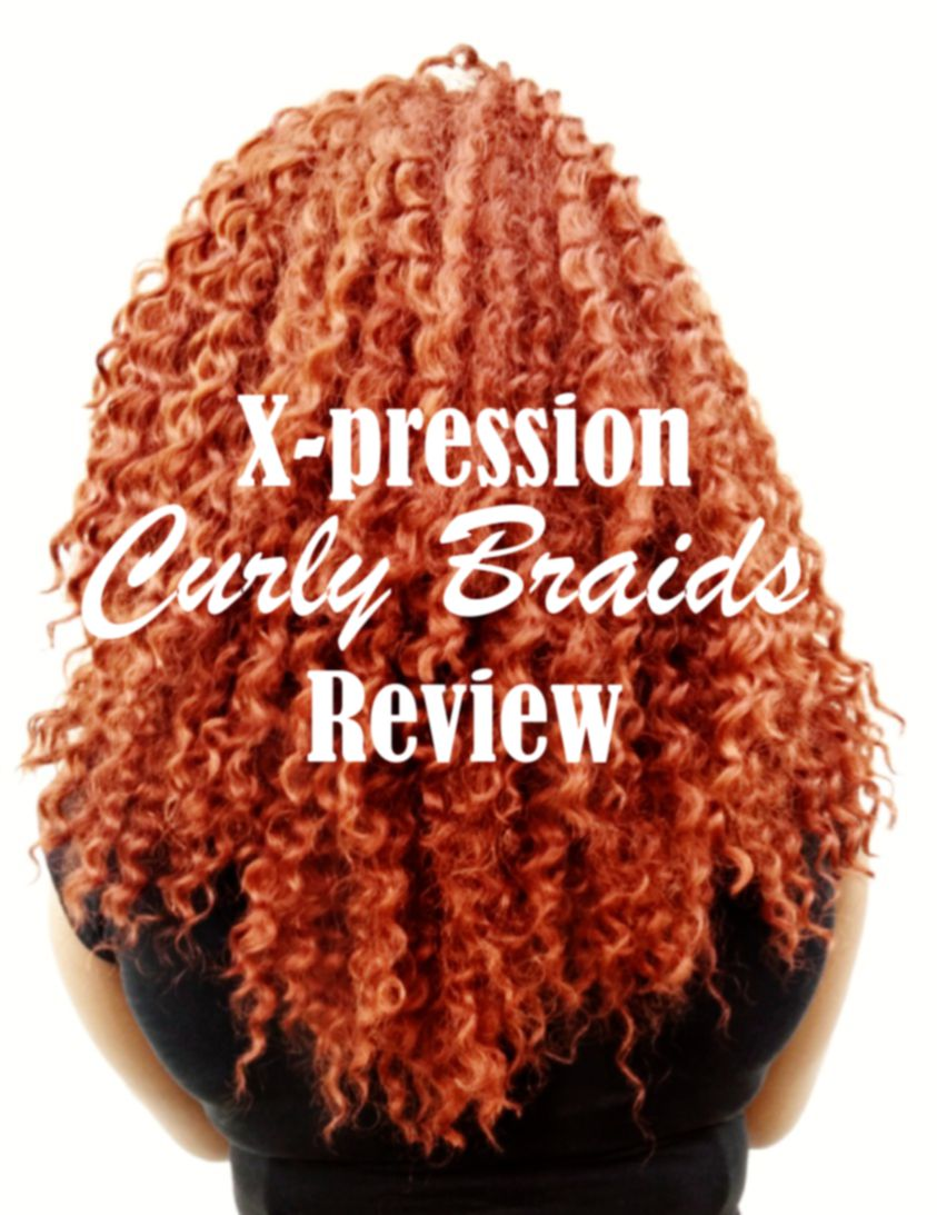 xpression curly braids review by winifredben