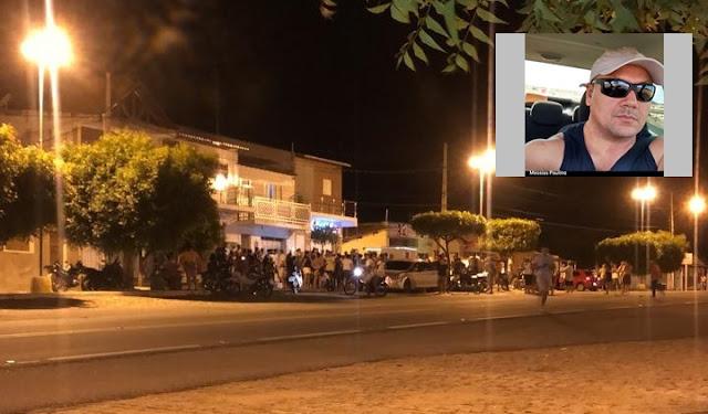 Policial Militar é assassinado na noite desta quarta-feira em cidade do Sertão