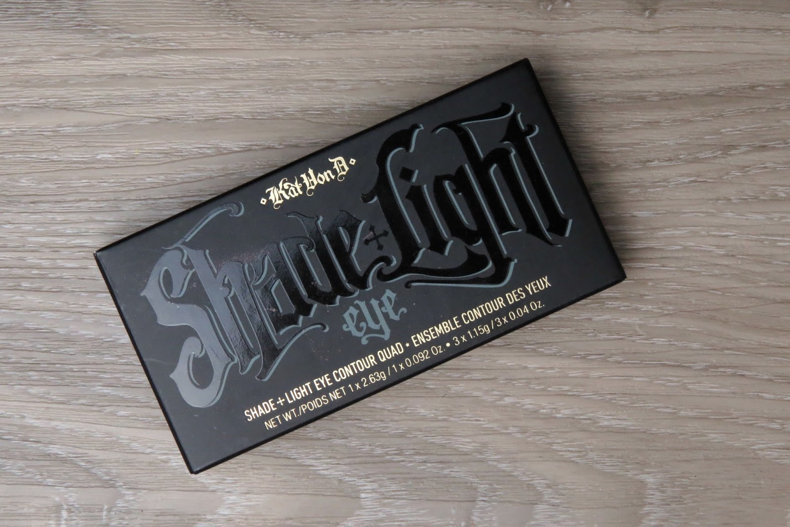 Swatched Kat Von D Shade And Light Eye Contour Quad In
