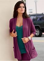 Jachetă din tricot cu buzunare (bonprix)