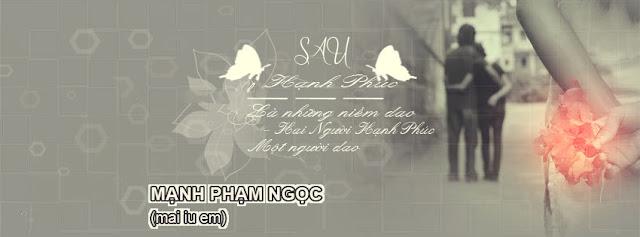 PSD Ảnh Bìa  FB Tâm Trạng Hành Phúc Và Niềm Dao