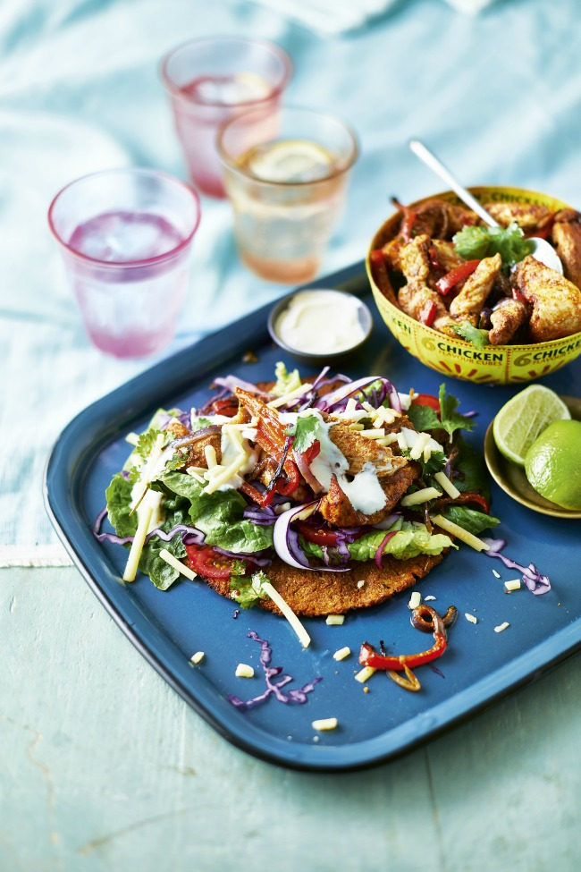 fajitas-covered-with-fresh-vegetables-and-a-bowl-of-chicken-on-the-side-from-get-your-kids-to-eat-anything