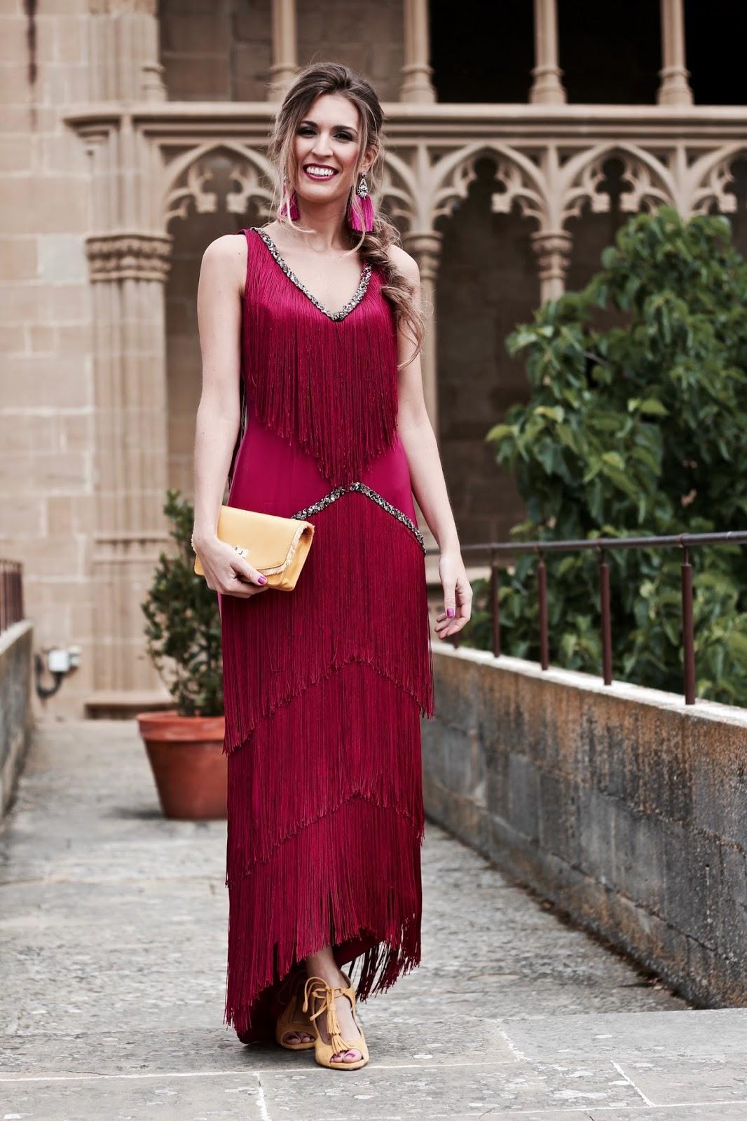 vestido fiesta buganvilla