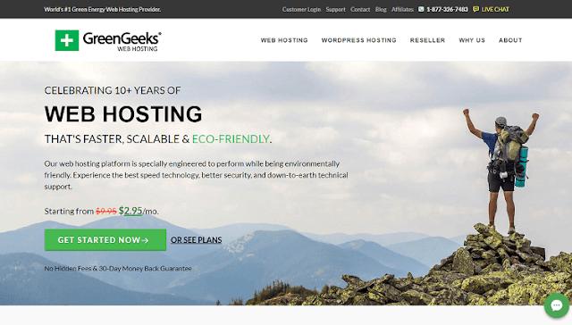 GreenGeeks Web Hosting