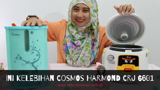 REVIEW COSMOS HARMOND CRJ 6601