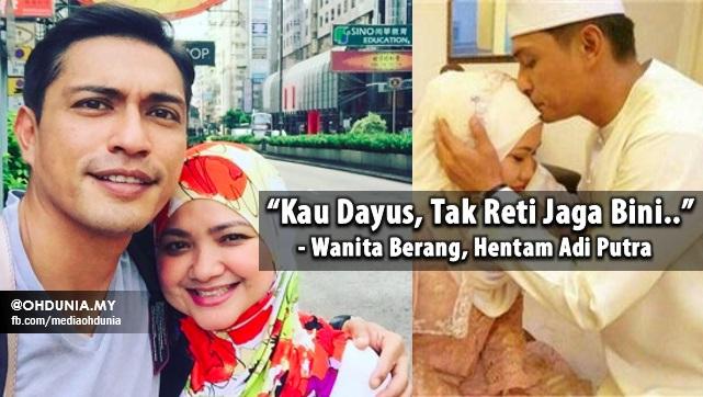 """Kau Dayus, Tak Reti Jaga Bini.."" - Wanita Berang, Hentam Adi Putra"