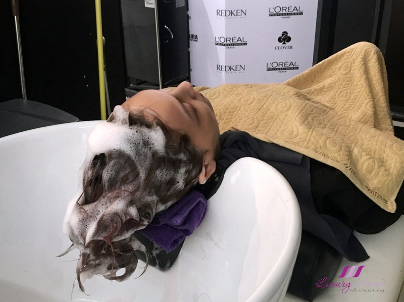 clover hair loreal pro fiber shampoo review