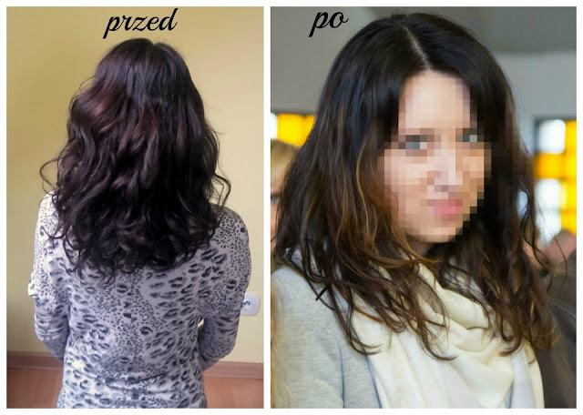 Moje włosy po rozjaśnianiu | efekt delikatnego sombre