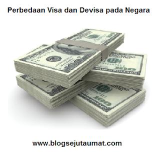Perbedaan Visa dan Devisa pada Negara