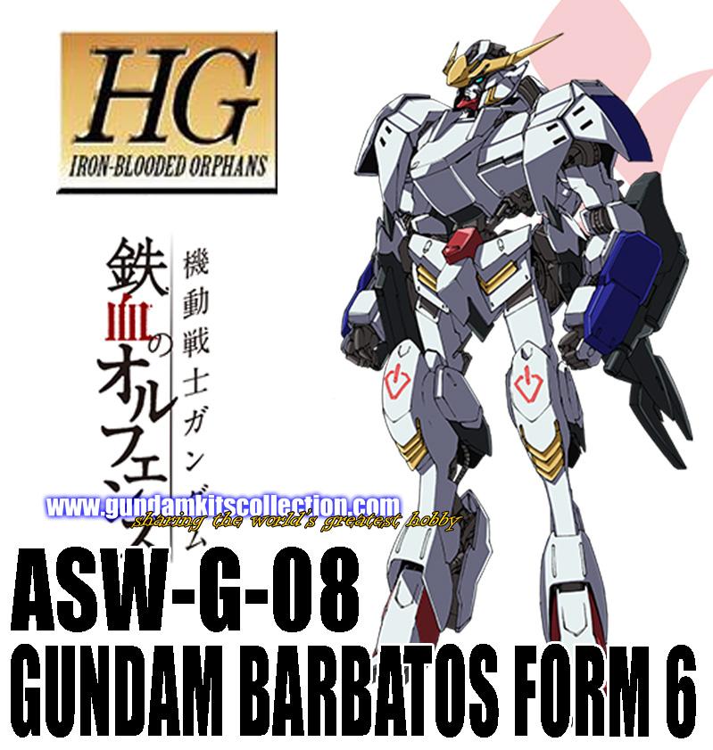 HG 1/144 Gundam Barbatos Form 6 - Release Info, Box art and ...