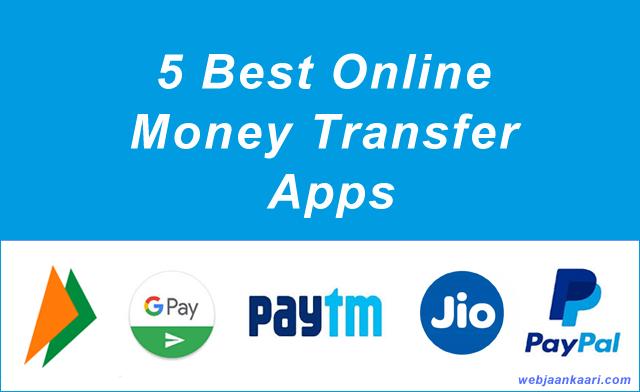 5 Best Online Money Transfer Apps