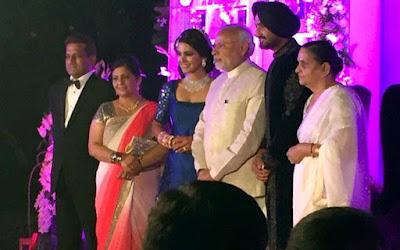 PM-Narendra-Modi-in-Harbhajan-Singh-Geeta-Basra-wedding-reception
