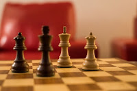 Four chess Pieces - Photo by Nick Fewings on Unsplash