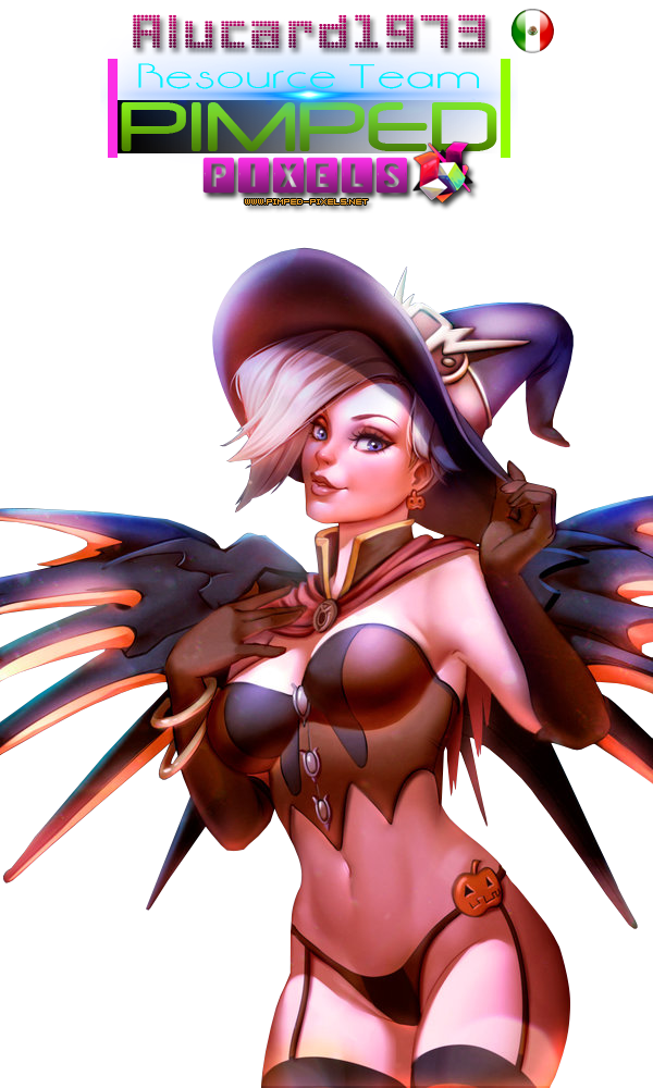 Mercy Sexy Halloween Overwatch