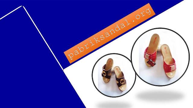 PROMO Lebaran !!! Wedges CS CPC Wanita- Pabrik Sandal