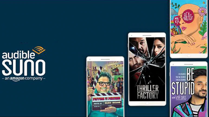 Amazon launches Audible Suno app in India with 60 ad-free shows in Hindi and English-Varat News