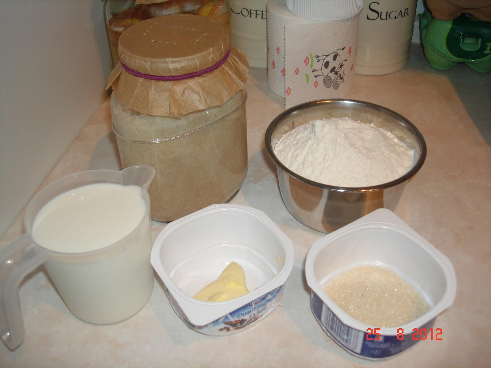 Cooking&Baking Diary : 天然酵母(葡萄乾種)鬆餅