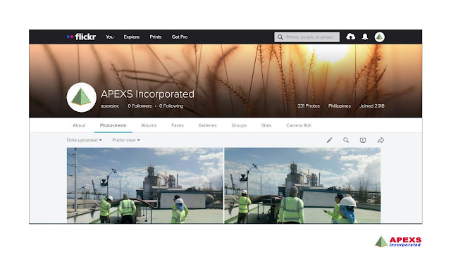 APEXS is reachable on Flickr